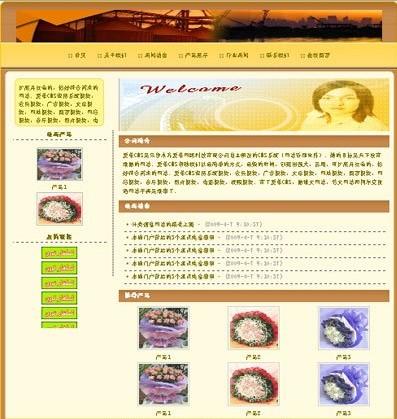 爱革CMS 公司网站模板 W010008 - 源码下载 -六神源码网