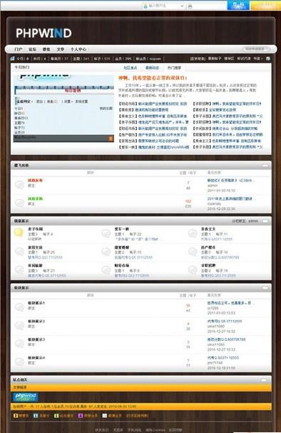 PHPWind 新世纪模板 - 源码下载 -六神源码网