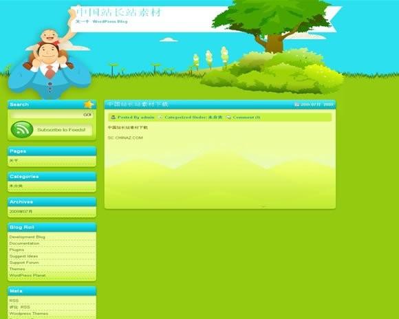 Wordpress Greenny模板 - 源码下载 -六神源码网
