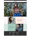 欧美时尚潮流服饰网站模板 v8 - 源码下载 -六神源码网