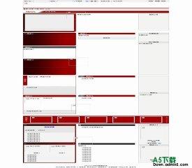 PHPCMS 红色个性 - 源码下载 -六神源码网