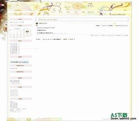 Bo-Blog beautyflower模板 - 源码下载 -六神源码网