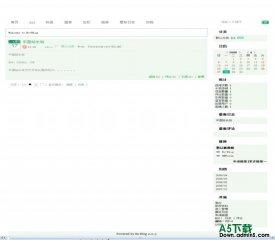 Bo-Blog coolgreen模板 - 源码下载 -六神源码网
