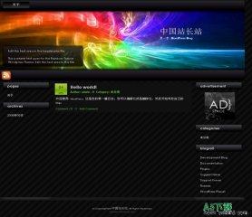 Wordpress Rainbow模板 - 源码下载 -六神源码网