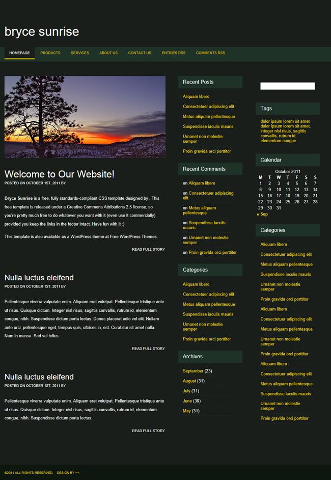 旅游网站模板 - 源码下载 -六神源码网