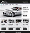 汽车修理公司网站模板 - 源码下载 -六神源码网