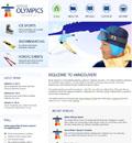 冬季奥运会滑雪模板 - 源码下载 -六神源码网