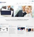简洁线条企业官网html5模板 - 源码下载 -六神源码网