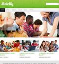 简洁大气学校教育网站模板 - 源码下载 -六神源码网