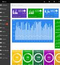 Metro风格仪表盘后台管理模板 - 源码下载 -六神源码网