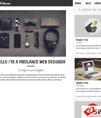 黑色响应式个人博客网站模板 - 源码下载 -六神源码网