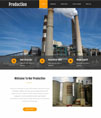 工业生产建筑企业网站模板 - 源码下载 -六神源码网