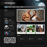 黑色炫酷健身网站模板 v8 - 源码下载 -六神源码网